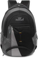 Flycraft simn.1544 black Waterproof Backpack(Black, 30)