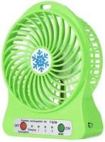 Highstairs Mini Portable USB Rechargeable 3 Speed Fan Colors May Vary USB Fan-1 USB Fan(Green)