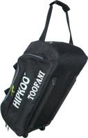 Hipkoo Sports High Quality Toofani Wheeler Bag (Both Side Pockets) One Shoe Compartment Trolley(Black, 50 L)