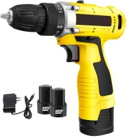 XDLB XDLB-1CL-SG Cordless Screwdriver Drill Machine (10 mm Left/Right, 12v with 2 Batteries) Angle Drill(10 mm Chuck Size)