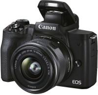 Canon EOS M50 MKII 15-45MM LENS NO MEMORY CARD NO BAG Mirrorless Camera EOS M50 MKII 15-45MM LENS NO MEMORY CARD NO BAG(Black)