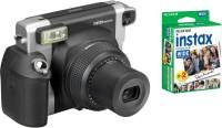 FUJIFILM Instax Wide 300 Bundle Pack (Black) with 20 Film shot Instant Camera(Black)