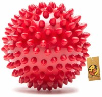 Foodie Puppies Super Dog Spiked Rubber Dog Ball Rubber Rubber Toy For Dog