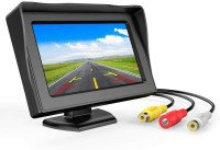 CARZEX 4.3 Dashboard TFT LCD Screen Rear View Monitor Black LCD(10.922 cm)