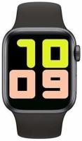 A-One India T55 Smartwatch Smartwatch(Black Strap, Free Size)