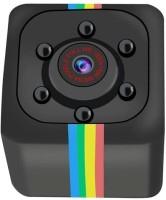 SIOVS Mini Camera SQ11 Mini 180 degree viewing angle security cctv camera night vision spy camera home security camera sport and action camera Sports and Action Camera(Black, 12 MP)