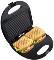 Grizzly High Quality Sandwich Maker Grill(Black)