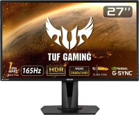 ASUS 27 inch Quad HD LED Backlit IPS Panel Gaming Monitor (VG27AQ)(NVIDIA G Sync, Response Time: 1 ms, 165 Hz Refresh Rate)