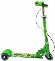 Jakas Mart 3 Wheel Scooter Cycle with Bell and Hand Brake(Multicolor)