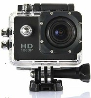 Youngwolf Action Camera Full HD 1080P Sports DV Action Waterproof Sports and Action Camera Sports and Action Camera(Black, 1080 MP)