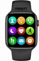 POKRYT T55+ Plus Smartwatch(Black Strap, Free)