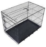 Hanu DOG CAGE FOR - PUG BEGAL -SHITZU -LASAHEAPSO POM TOY -BREED 24 INCH Dog, Bird, Frog, Cat, Hamster, Miniature Pig, Guinea Pig, Mouse, Monkey Cage 020 Dog, Bird, Hamster, Cat, Rabbit Cage