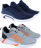 Birde Combo Pack of 2 Sports Shoes Running Shoes For Men(Blue)