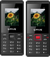 GFive i1 Combo of Two Mobiles(Black : Black Red)
