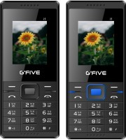 GFive i1 Combo of Two Mobiles(Black : Black Blue)