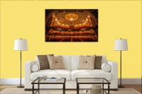 Decorative Framed Canvas Wall Art Decoration state theater in sydney Digital Print Poster N&WCP-10008 Canvas Art(14 inch X 22 inch)