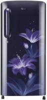 LG 190 L Direct Cool Single Door 4 Star Refrigerator(Blue Glow, GL-B201ABGY.ABGZEBN)