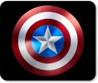 PrintMall Captain america shield designer mouse pad Mousepad(Multicolor)