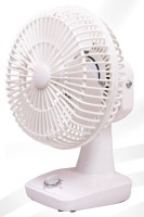 QUALX High Speed Motor Wall Cum Table Fan1 200 mm Ultra High Speed 3 Blade Table Fan(WHITE, Pack of 1)