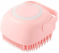 A-One Silicone Soft Bath Body Brush with Shampoo Dispenser Scrubber use in Shower, Deep Cleaning, Gentle Scrub Massage Skin Exfoliation for Children, Men Women,(Multicolor) (Pack of 1pcs)