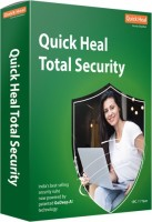 QUICK HEAL Total Security 1 User 1 Year (Renewal)(CD/DVD)