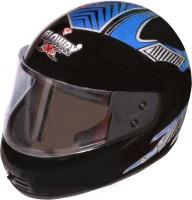 GLOWRY P T M Helmet Visor(Black)