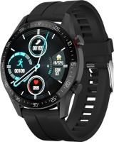 I Kall K21 New Smart Bluetooth Calling Watch Smartwatch(Black Strap, Free Size)