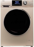 Haier 7 kg Fully Automatic Front Load with In-built Heater Gold(HW70-BD12636GNZP)