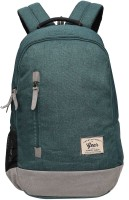 Gear Campus 8 24 L Backpack(Green, Grey)