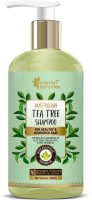 Oriental Botanics Australian Tea Tree Hair Shampoo - With Aloe Vera, Shea Butter - For Healthy And Nourished Hair - No SLS / Sulphate, Paraben, Silicones(300 ml)