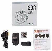 SIOVS Mini Camera SQ8 Mini Spy Camera 1080P | Smallest Wireless Hidden Cameras for Home/Office/Car/Nanny | Full HD Video & Audio Recorder |Spy Cam Portable | Action Camera|Motion Detection Sports and Action Camera(Black, 12 MP)