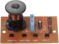 NEXT GEEK 2 Way 6db Audio Crossover Network Filters Speaker Frequency Distributor Multi Speaker Audio Divider Electronic Components Electronic Hobby Kit