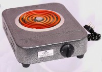 QUALX ISI Mark 2000W Shock-Proof only on earthing Electric Cooking Heater Radiant Cooktop(Black, Jog Dial)