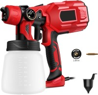 BUILDSKILL Pro Latest Heavy Duty 750W with Copper Nozzle DIY Home Professional BPS2100 HVLP Sprayer(Red)