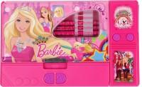GENCLIQ 1 Barbie Art Plastic Pencil Box(Set of 1, Pink, Purple)