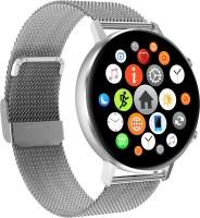 AeoFit Alpha Smartwatch(Silver Strap, 2 Extra Straps)