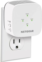 NETGEAR ex6110-100ins 1200 Mbps WiFi Range Extender(White, Dual Band)
