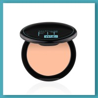 MAYBELLINE NEW YORK Fit Me Shade 115 Compact Powder, 8g - Powder that Protects Skin from Sun, Absorbs Oil, Sweat and helps you to stay fresh for upto 12Hrs Compact(Shade 115, 8 g)