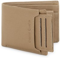DEZiRE CRAfTS Men Casual, Formal Beige Artificial Leather Wallet(8 Card Slots)