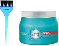 Aaxyone Hair Dye Brush With Hair Spa Repairing Cream Bath for Damaged Hair -490 Gm(2 Items in the set)