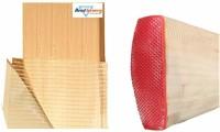 HeadTurners Combo of Cricket Bat Toe Guard and Safety Anti Crack Fibre Tape Scuff Sheet Cricket Guard Combo