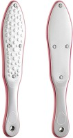 Beauté Secrets Professional Foot File Callus Remover, Double Sided Pedicure Rasp for Cracked Heel and Dead Foot Skin - Heavy Duty Stainless Steel, Silver