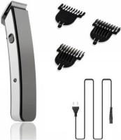 Profiline Kit Unisex Men Trimmer Rechargeable shaving razor MI machine clipper cordless With 3 attachment  Runtime: 45 min Trimmer for Men & Women(Black, Silver)