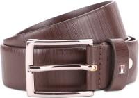 TOMMY HILFIGER Men Brown Genuine Leather Belt