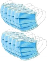 V SURZ 3PLY MASK WITH NOSE CLIP BSR 3PLY MASK Surgical Mask With Melt Blown Fabric Layer(Free Size, Pack of 100, 3 Ply)
