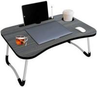 Flipkart Perfect Homes Studio Wood Portable Laptop Table(Finish Color - BLACK)
