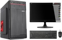 brozzo ALL IN ONE Core 2 Duo (4 GB DDR3/500 GB/Windows 7 Ultimate/15 Inch Screen/C2D/4GB/500GB/BEST FOR DAILY USES WITH WIFI SUPPORT)(Black)