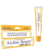 Aichun Beauty New Product Aichun brand Anti Acne remove scar stretch marks postoperative scar repair cream gel with SPF 30(20 g)