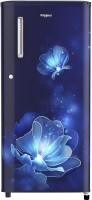 Whirlpool 190 L Direct Cool Single Door 4 Star Refrigerator(Sapphire Radiance, WDE 205 PRM 4S INV SAPPHIRE RADIANCE)