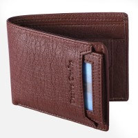 DEZiRE CRAfTS Men Formal, Casual Brown Artificial Leather Wallet(8 Card Slots)